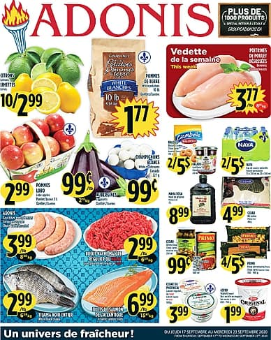Weekly Flyer | Marché Adonis