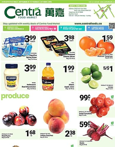 Weekly Flyer | Centra