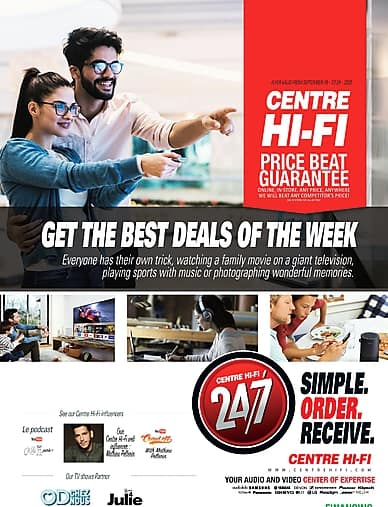 Weekly Flyer | Centre Hi-Fi