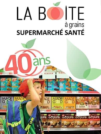 September Flyer   La Boite à Grains