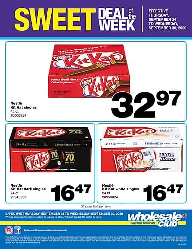 Weekly Flyer | Wholesale Club
