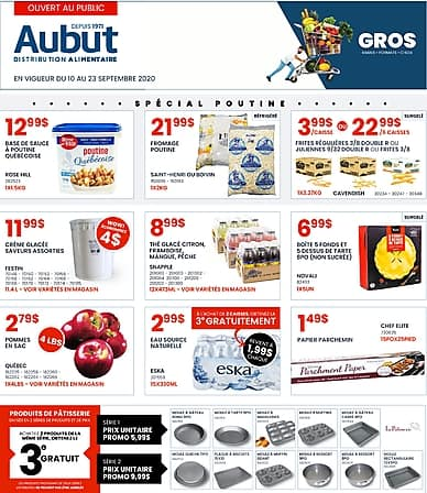 Two-Week Flyer   Distribution Alimentaire Aubut