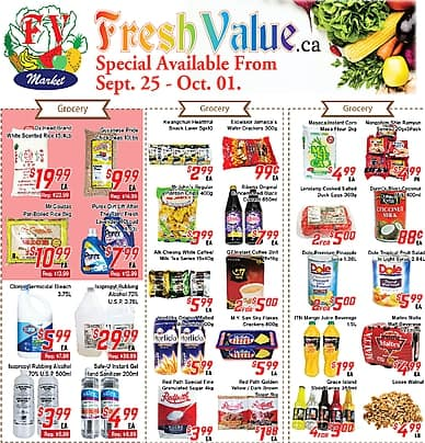 Weekly Flyer | Fresh Value Market