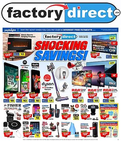 Shocking Savings!   Factory Direct