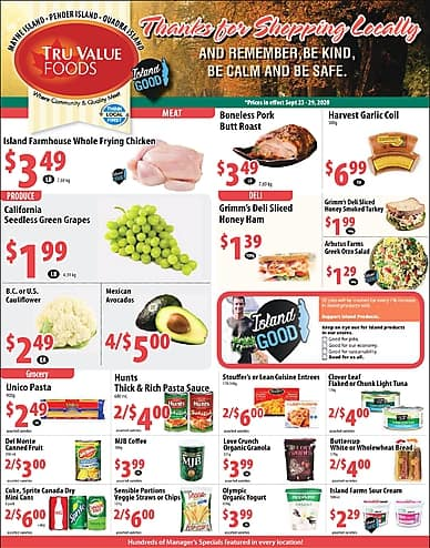 Weekly Flyer | Tru Value Foods