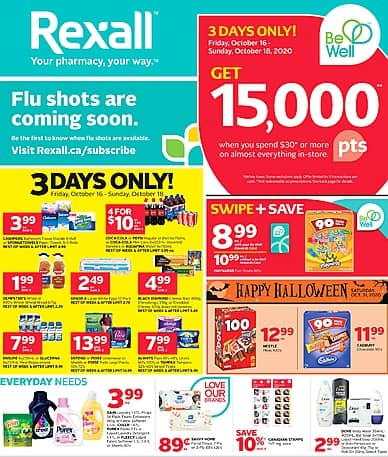 Weekly Flyer   Rexall