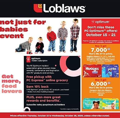 Not Just For Babies Event | Loblaws
