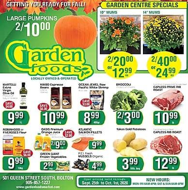 Weekly Flyer | Garden Foods