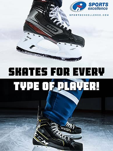 Skates For Every Type Of Player! | Sports Excellence
