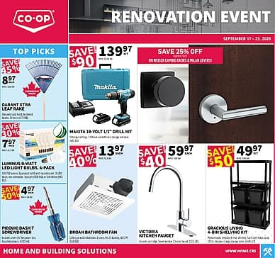 Renovation Event | Co-op
