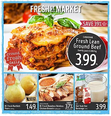 Weekly Flyer | Fresh St. Market