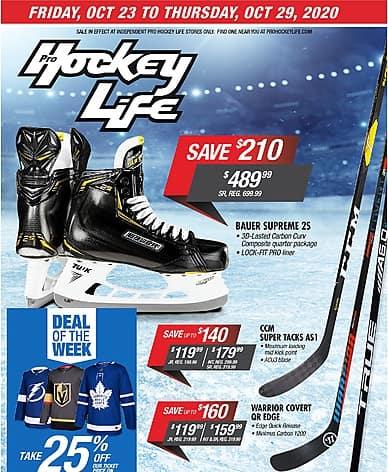 Weekly Flyer | Pro Hockey Life