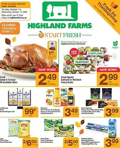Two-Week Flyer | Highland Farms