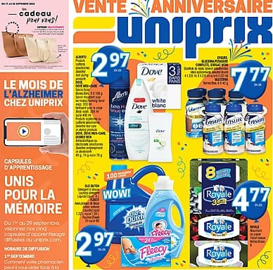 Weekly Flyer | Uniprix