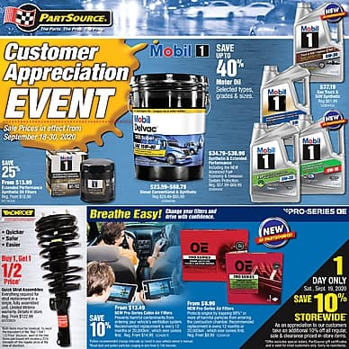 Customer Appreciation Event | PartSource