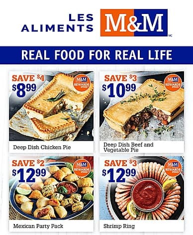 Weekly Flyer | Les Aliments M&M