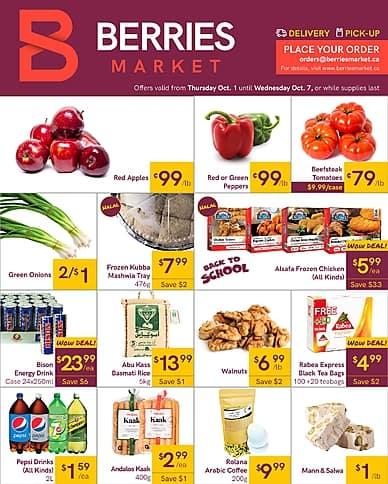 Weekly Flyer | Berries Market