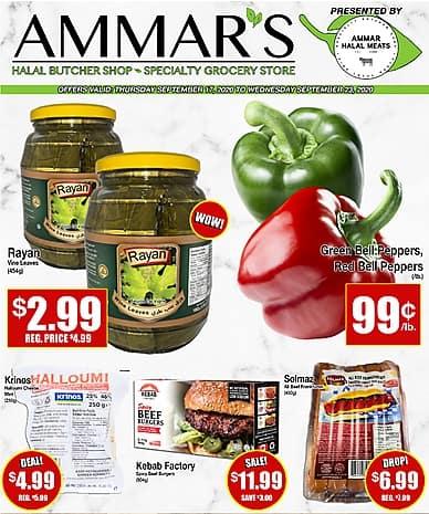 Weekly Flyer | Ammar Halal Meats