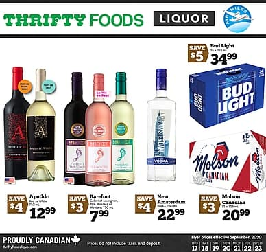 Weekly Flyer | Thrifty Foods Liquor