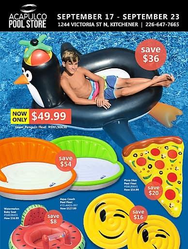 Weekly Flyer | Acapulco Pool Store