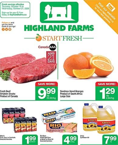 Weekly Flyer | Highland Farms