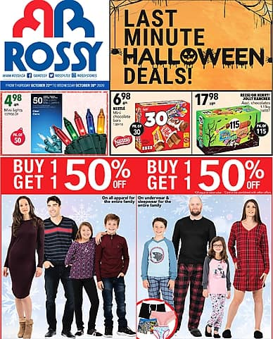 Weekly Flyer | Rossy