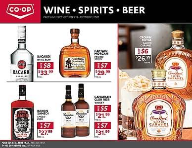 Wine Spirits Beer | North Central Co-op