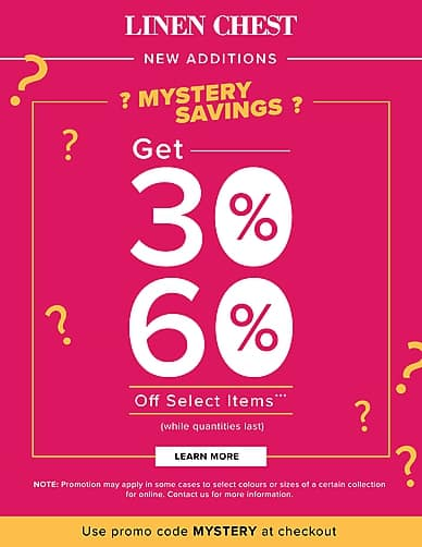 Mystery Savings | Linen Chest