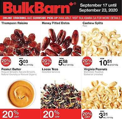 Weekly Flyer | Bulk Barn