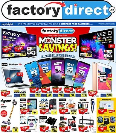 Monster Savings | Factory Direct