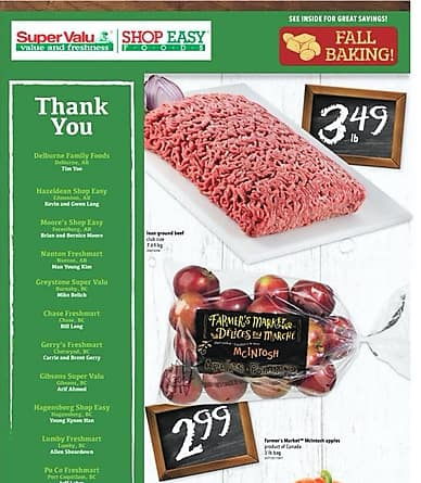 Weekly Flyer | SuperValu & Shop Easy Foods