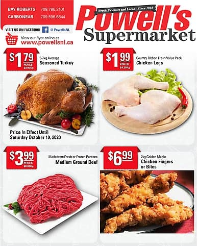 Weekly Flyer | Powell's Supermarket