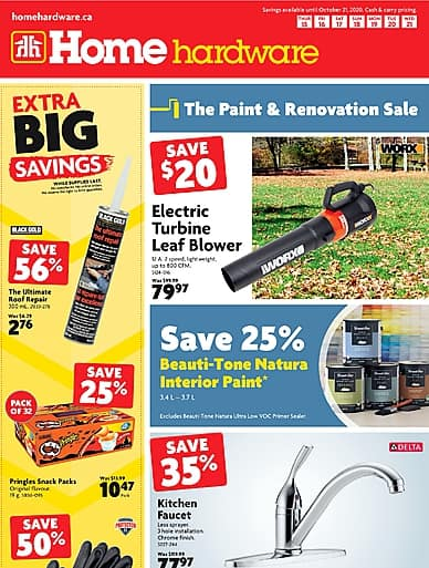 The Paint and Renovation Sale | Home Hardware