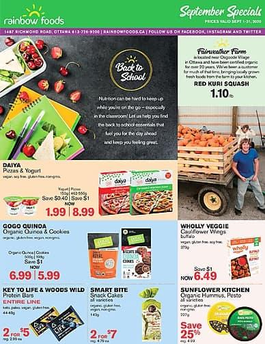 September   Rainbow Foods