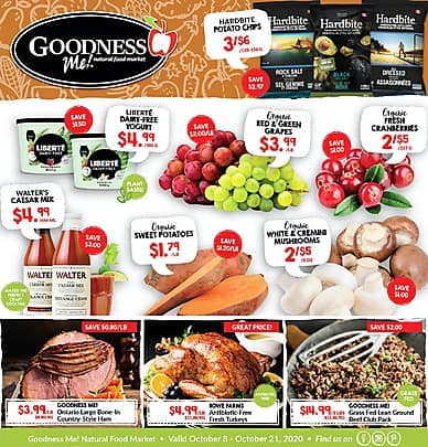 Weekly Flyer | Goodness Me!