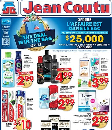 Weekly Flyer   Jean Coutu