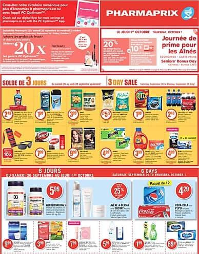 Weekly Flyer | Pharmaprix