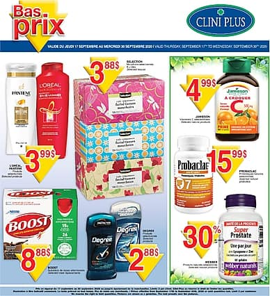 Two-Week Flyer | Clini-Plus