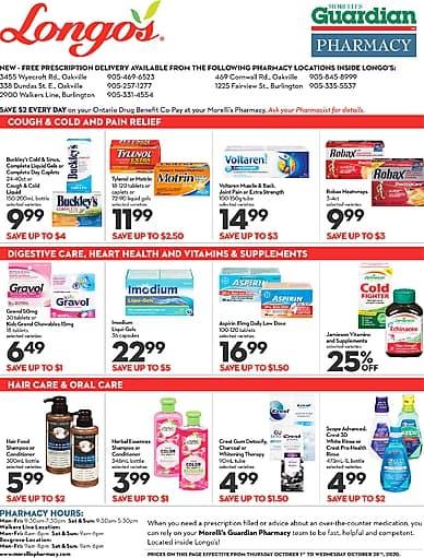 Pharmacy | Longo's