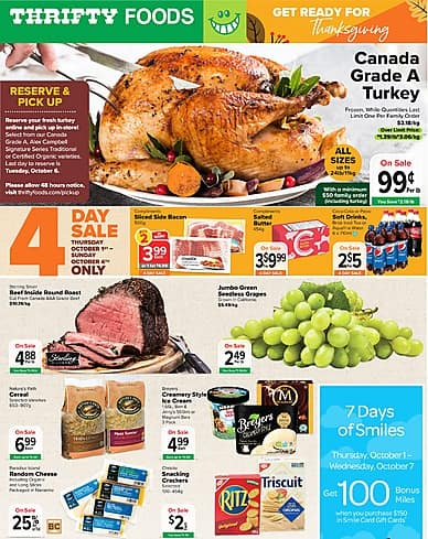 Weekly Flyer | Thrifty Foods