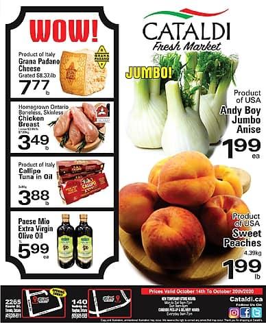 Weekly Flyer | Cataldi
