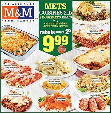 Weekly Flyer   Les Aliments M&M