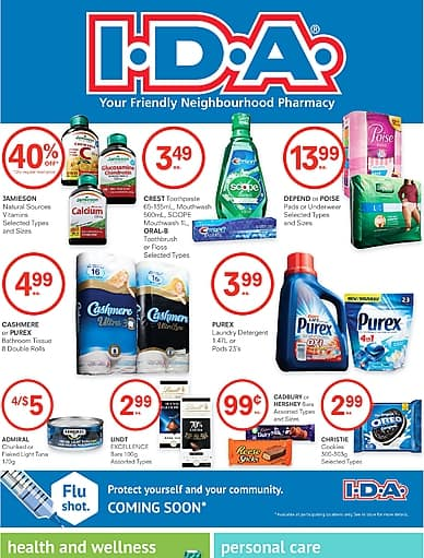 Weekly Flyer   I.D.A.