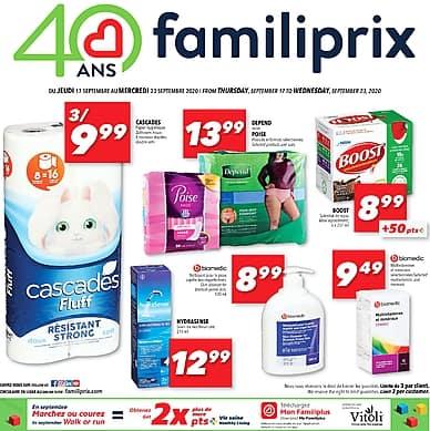 Weekly Flyer   Familiprix