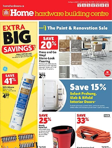 The Paint and Renovation Sale | Home Hardware Building Centre