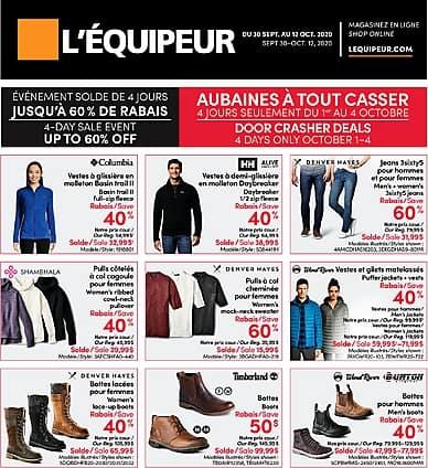 Two-Week Flyer | L'Équipeur