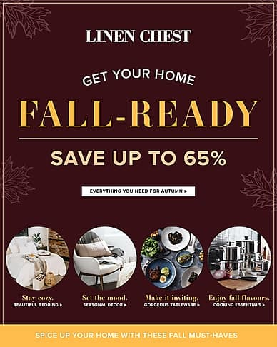 Get Your Home Fall-Ready | Linen Chest