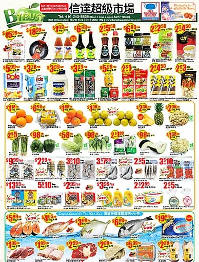 Weekly Flyer | Btrust Supermarket