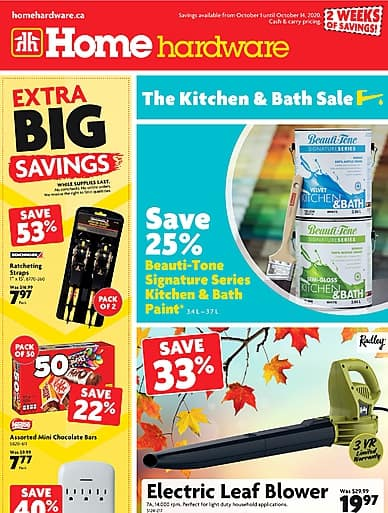 The Kitchen and Bath Sale | Home Hardware