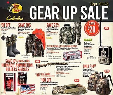 Two-Week Flyer | Cabela's
